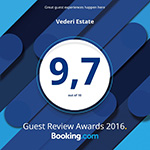 Bookingcom Award 2016